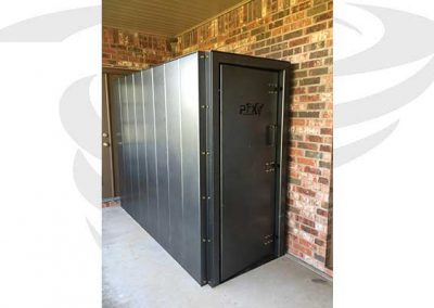 3x8x6.5 back porch storm shelter
