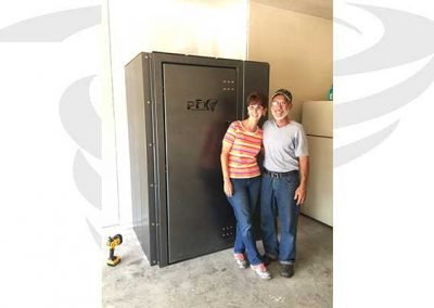 3x4x6.5 garage storm shelter dfw