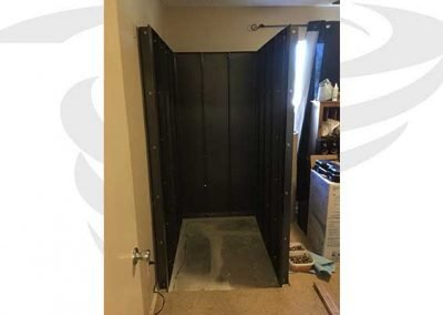 storm shelter installed in office dfw